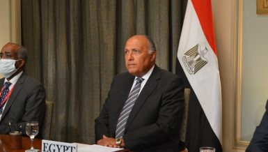 Egypt FM Egyptian foreign Minister Sameh Shoukry Daily News Egypt Libya