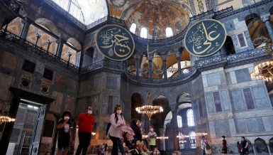 Hagia Sophia was first built as an Orthodox Christian cathedral before it's conversion into a mosque following the Ottoman conquest of Istanbul in 1453. It became a museum in 1934, and is now classified as a UNESCO World Heritage site.