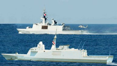 Egypt, France conduct joint naval drills in Mediterranean Sea
