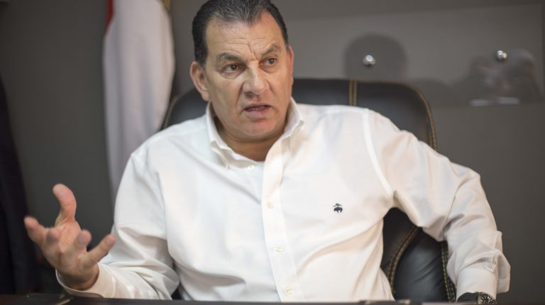 Hatem Bashat, ُEgyptian Parliament Member and a member of Egypt's African affairs parliamentary committee