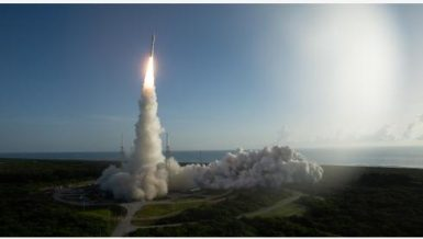 Launch Alliance Atlas V rocket with NASA's Mars rover Perseverance Joel Kowsky/NASA/Handout via Xinhua)