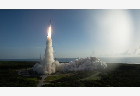 Launch Alliance Atlas V rocket with NASA's Mars rover Perseverance Joel Kowsky/NASA/Handout via Xinhua)