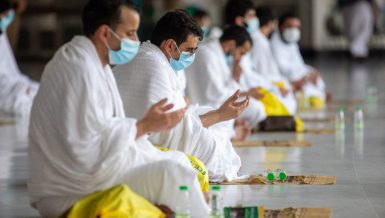 Muslim Pilgrims during Hajj in Saudi Arabia amid coronavirus Daily News Egypt