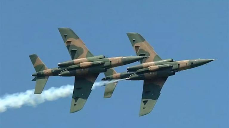 Nigerian military airstrikes