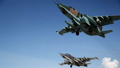 Russian warplanes airstrikes Syria IS ISIS