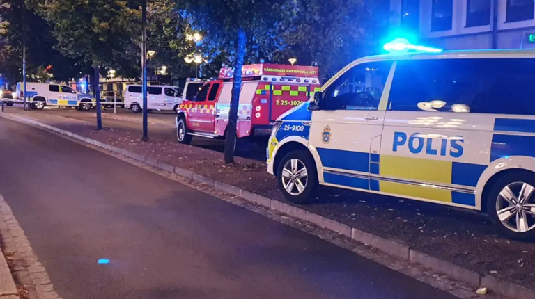 Taxi drives into crowd in Borlange, Sweden, three injured