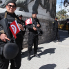 Security forces in Tunisia guarding a building Daily News Egypt