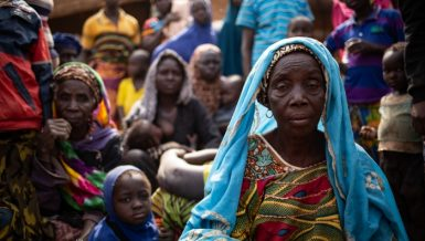 People displaced by violence in Burkina Faso