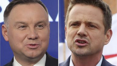 presidential election runoff in Poland between incumbent President Andrzej Duda and opposition-backed Rafal Trzaskowski
