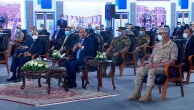 Egypt President Abdel Fattal Al Sisi Daily News Egypt said that Egypt's economic reforms were defence against COVID-19