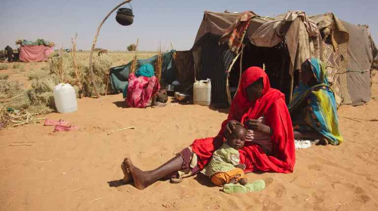Violence and displacement in Sudan Darfur region