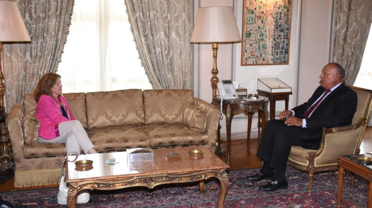 Egypt's Minister of Foreign Affairs Sameh Shoukry received, on Sunday, the Acting Special Representative of the UN Secretary-General to Libya Stephanie Williams, for discussions on the latest developments in Libya. Daily News Egypt