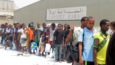 Ethiopian migrants and other African migrants in Yemen