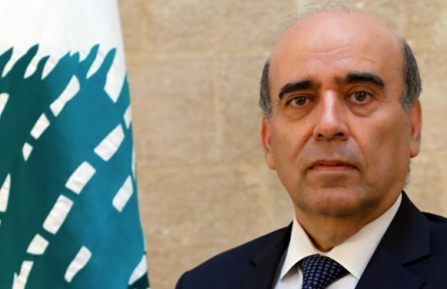 Lebanon newly-appointed Lebanese Minister of Foreign Affairs Charbel Wehbi