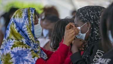 WHO launches awareness campaign on correct wearing of masks in Guinea-Bissau. Daily News Egypt