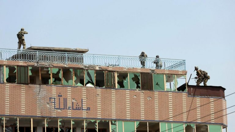 Terrorist attack that took place at a prison complex in Jalalabad Afghanistan
