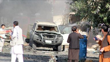 10 killed after bomb attack hits Afghan vice president's convoy in Kabul