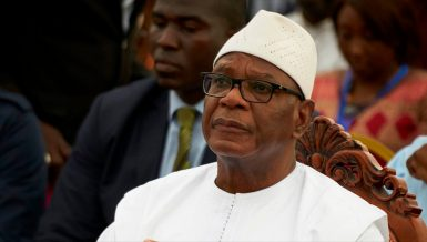 Ibrahim Boubacar Keita, the president of Mali ousted by a military coup. Daily News Egypt