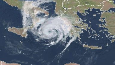 Mediterranean hurricane-like storm Ianos batters Greece Daily News Egypt