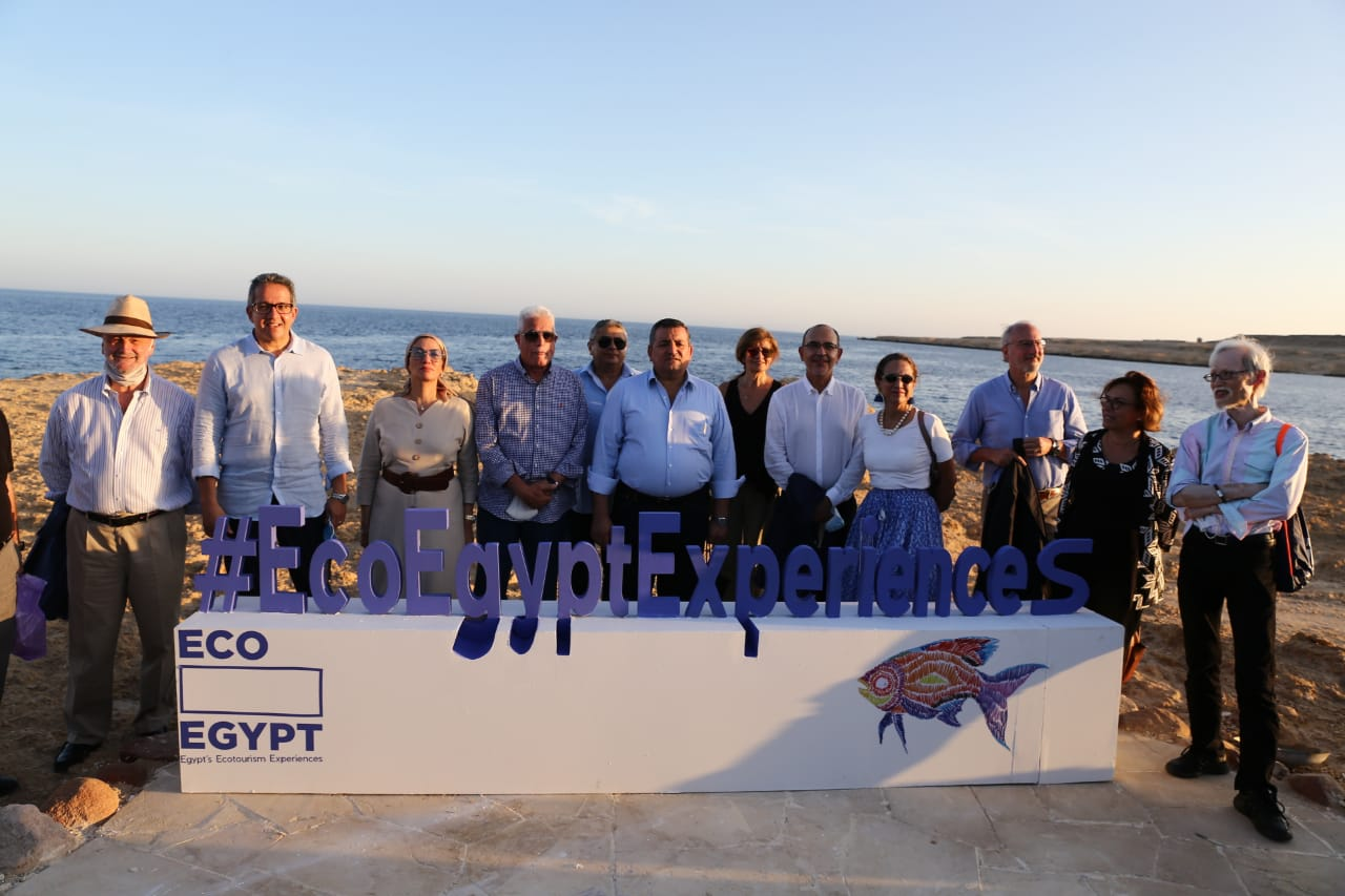 """Ministry of Environment launched """"Eco Egypt"""" campaign to promote protected areas in cooperation with Ministry of Tourism, Ministry of State for Information"""