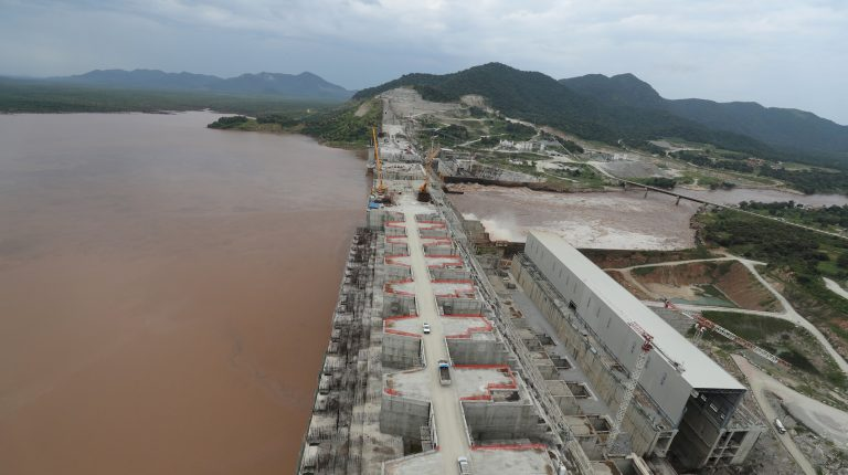Grand Ethiopian Renaissance Dam (GERD) on the Blue Nile River raises tensions between Egypt, Ethiopia and Sudan