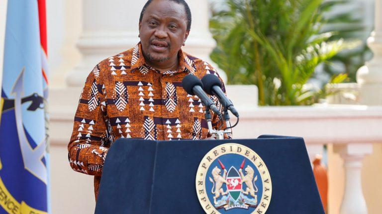President of Kenya Uhuru Kenyatta Daily News Egypt