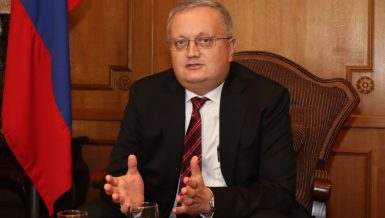 Russian Ambassador to Egypt, Georgiy Borisenko