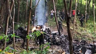 military helicopter crash in southern Philippines Daily News Egypt