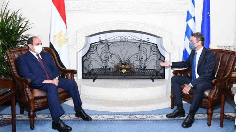 ويتوجه السيسي إلى اليونان لاجتماعات التعاون المشترك وقضايا شرق المتوسط