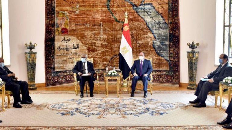 سام نجوما: ناميبيا تدعم جهود مصر السياسية لحل الخلاف حول سد النهضة
