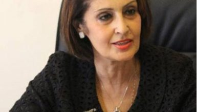 Ambassador Naela Gabr, Head of the National Coordinating Committee for Combating and Preventing Illegal Migration and Trafficking in Persons (NCCPIM & TIP).