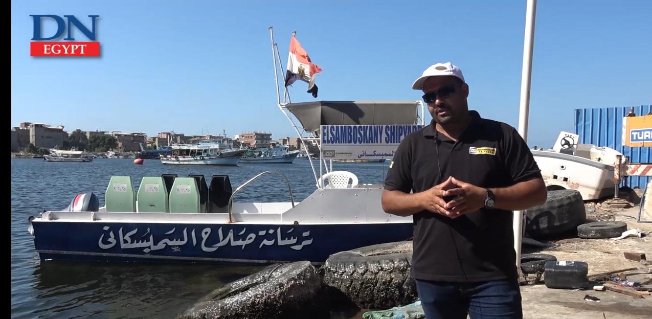 تواصل دمياط نشر أشرعتها كمركز لبناء السفن في مصر