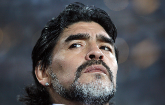 Diego Maradona, who died of a heart attack on Wednesday at the age of 60