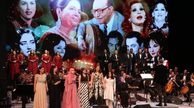 وزارة الثقافة تحتفل بالفائزين في مسابقة رتيبة الحفني للموسيقى العربية