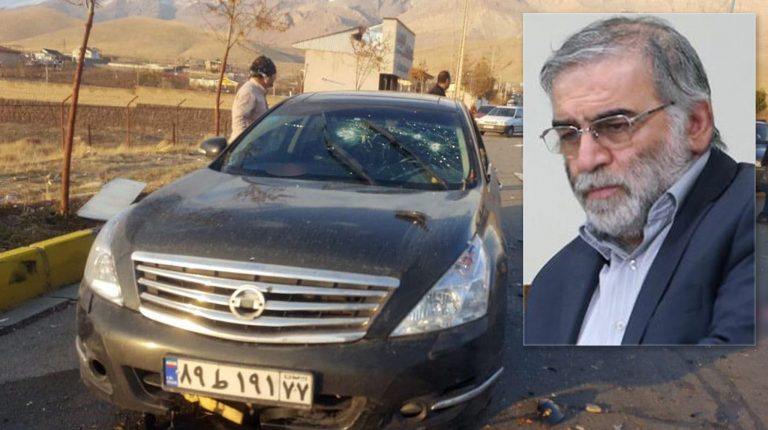 """Iranian high-ranking nuclear physicist Mohsen Fakhri Zadeh was assassinated near capital Tehran on Friday by """"armed terrorists,"""" Iran's Ministry of Defense announced. Daily News Egypt"""