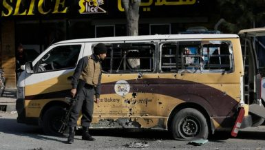Pakistan on Wednesday condemned blasts in Afghanistan's central Bamiyan city and said that the spike in attacks in public places in Afghanistan is an attempt of those who want to harm the country's peace process. Afghanistan Kabul ISIS Talaban