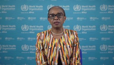 Matshidiso Moeti, WHO Regional director for Africa