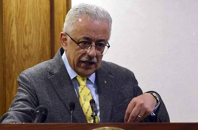 وزير التربية والتعليم المصري ينفي اصابته بفيروس كورونا