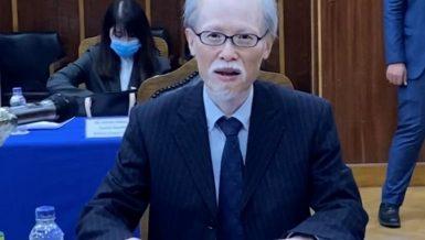 Japan's Ambassador to Egypt Noke Masaki