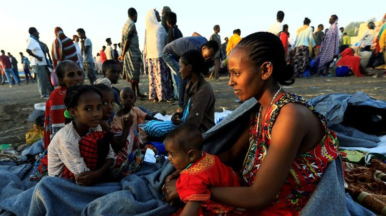 Thousands of people have reportedly died in Ethiopia's northern region of Tigray and there have been widespread destruction from aerial bombardment and ground fighting since 4 November when the military operations started. Nearly 43,000 people have fled the clashes to Sudan.
