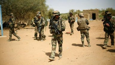Some 5,000 French soldiers started Barkhane Operation in 2014 in the Sahel region to help the G5 Sahel countries -- Burkina Faso, Chad, Mali, Mauritania and Niger -- combat extremist insurgents.
