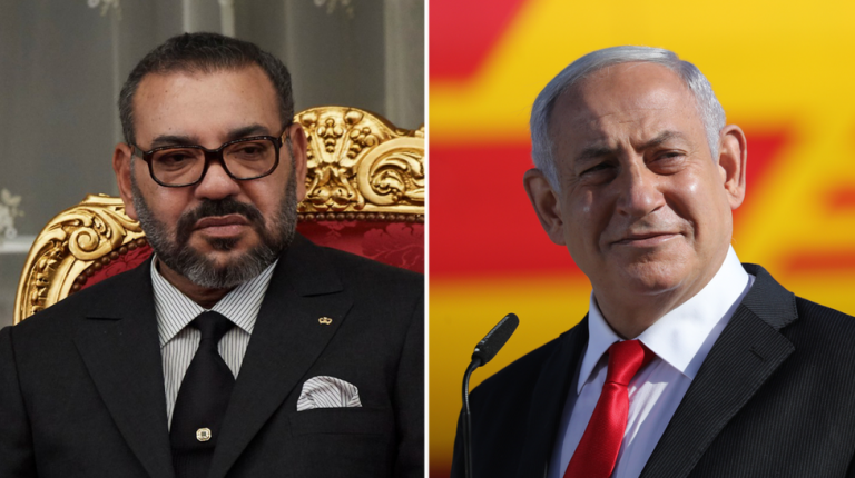 Moroccan King Mohammed VI and Israeli Prime Minister Benjamin Netanyahu on Friday held their first official phone call since the two countries decided to normalize relations earlier this month.