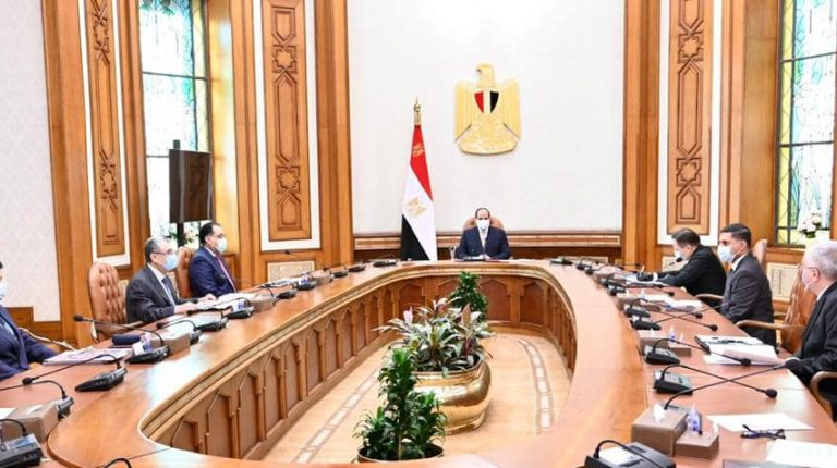 Egypt's President Abdel Fattah Al-Sisi received, on Monday, General Manager of the Russian Nuclear Energy Corporation (Rosatom) Alexei Lykhachov, to discuss the implementation progress of the Dabaa nuclear power plant.