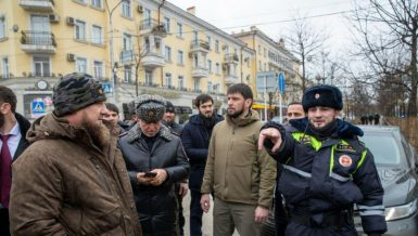 Russian police officer killed in knife attack in Chechnya