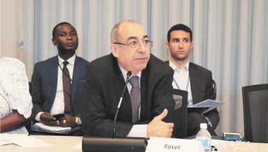 Ambassador Mohamed Idris, Egypt's permanent representative to the United Nations in New York,