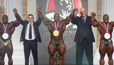 Egyptian bodybuilder Mamdouh Elssbiay 'Big Ramy' crowned 2020 Mr. Olympia