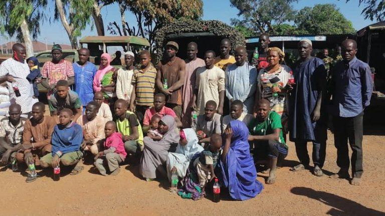 إنقاذ 39 مخطوفاً في ولاية كادونا شمال نيجيريا