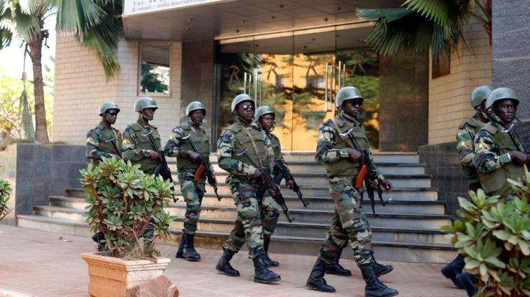 The General Staff of the Burkina Faso armed forces on Wednesday announced the killing of 13 terrorists during dragging operations from Dec. 14 to Dec. 20 in the Sahel region of the troubled country.