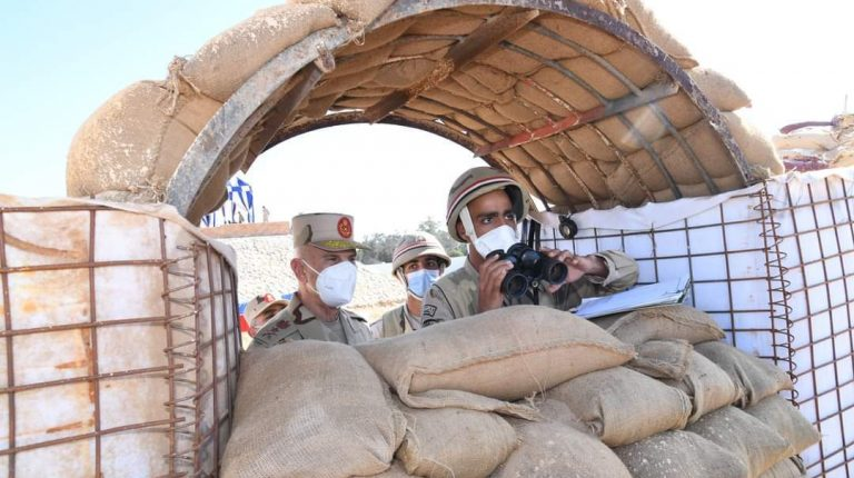 Chief-of-Staff of the Egyptian Armed Forces, Lieutenant General Mohamed Farid, praised, on Monday, the combat readiness of forces in North Sinai to carry out all assigned missions under various circumstances.