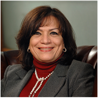 Mona Zulfikar, Chairperson of the Egyptian Microfinance Federation